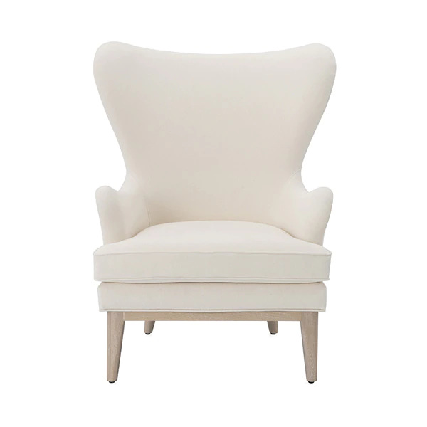 FRISCO_Ivory wing chair
