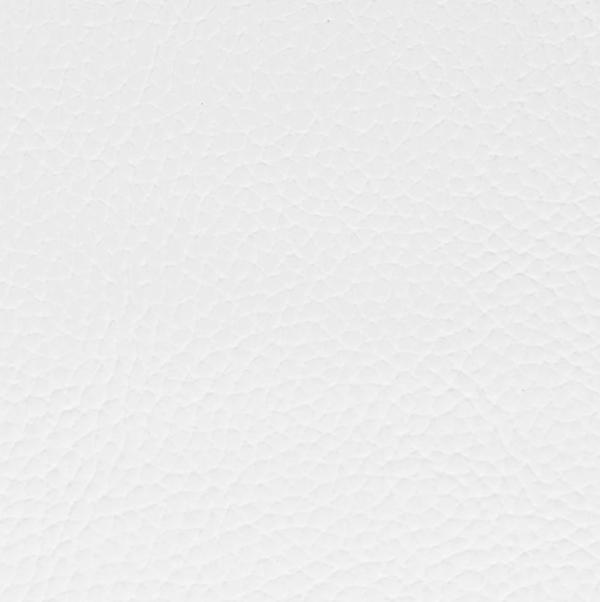 Barrel Bar Chair White vinyl swatch