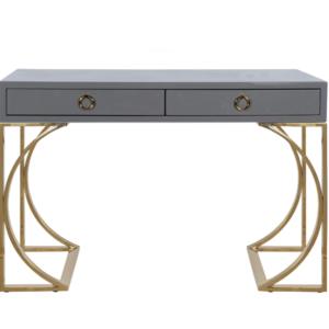 Grey Lacquer desk