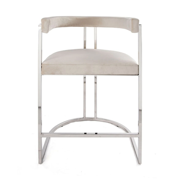 Barrel Back Bar Chair