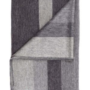 Charcoal Shupaca Throw folded