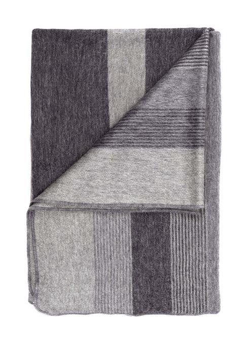 Charcoal Shupaca Throw folded