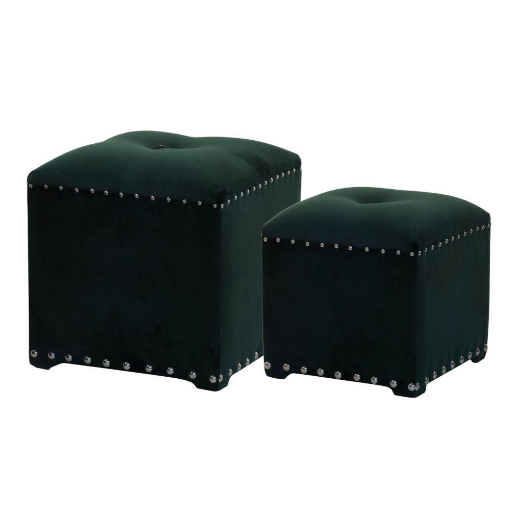 Emerald Green Cubes
