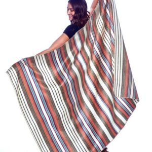 Oasis alpaca throw outside