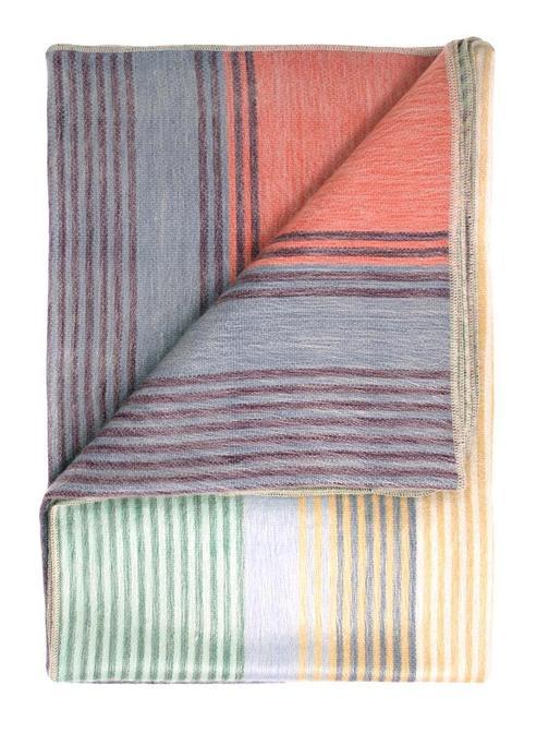 Spectrum alpaca throw folded