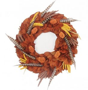 copper-feather-wreath