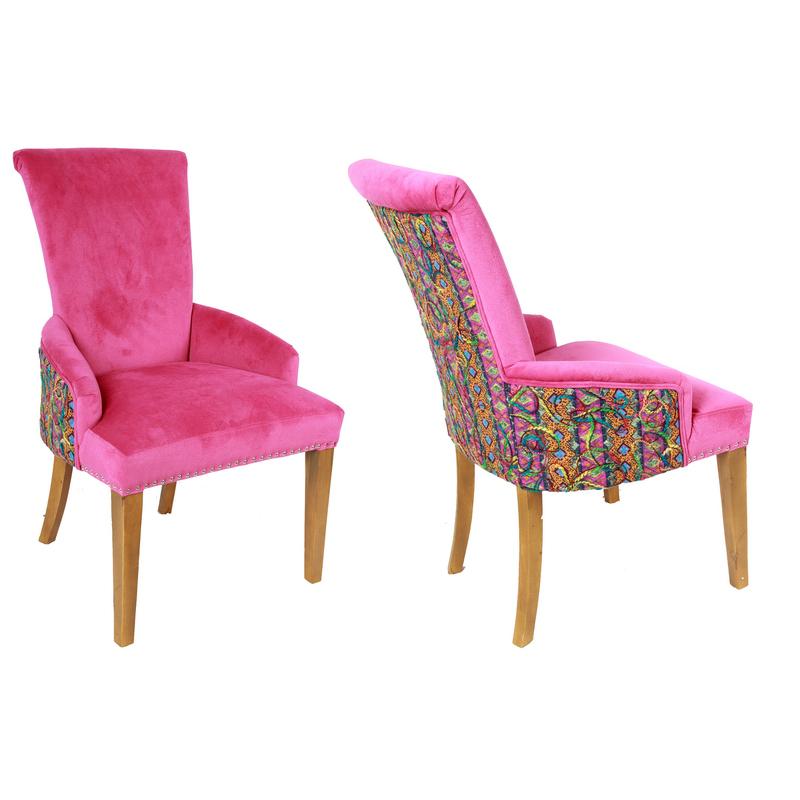 Hot Pink Plush Chair Katzberry Home Decor