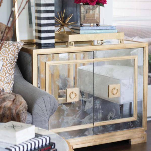 Greek Key Antique Mirror Cabinet Katzberry Home Decor
