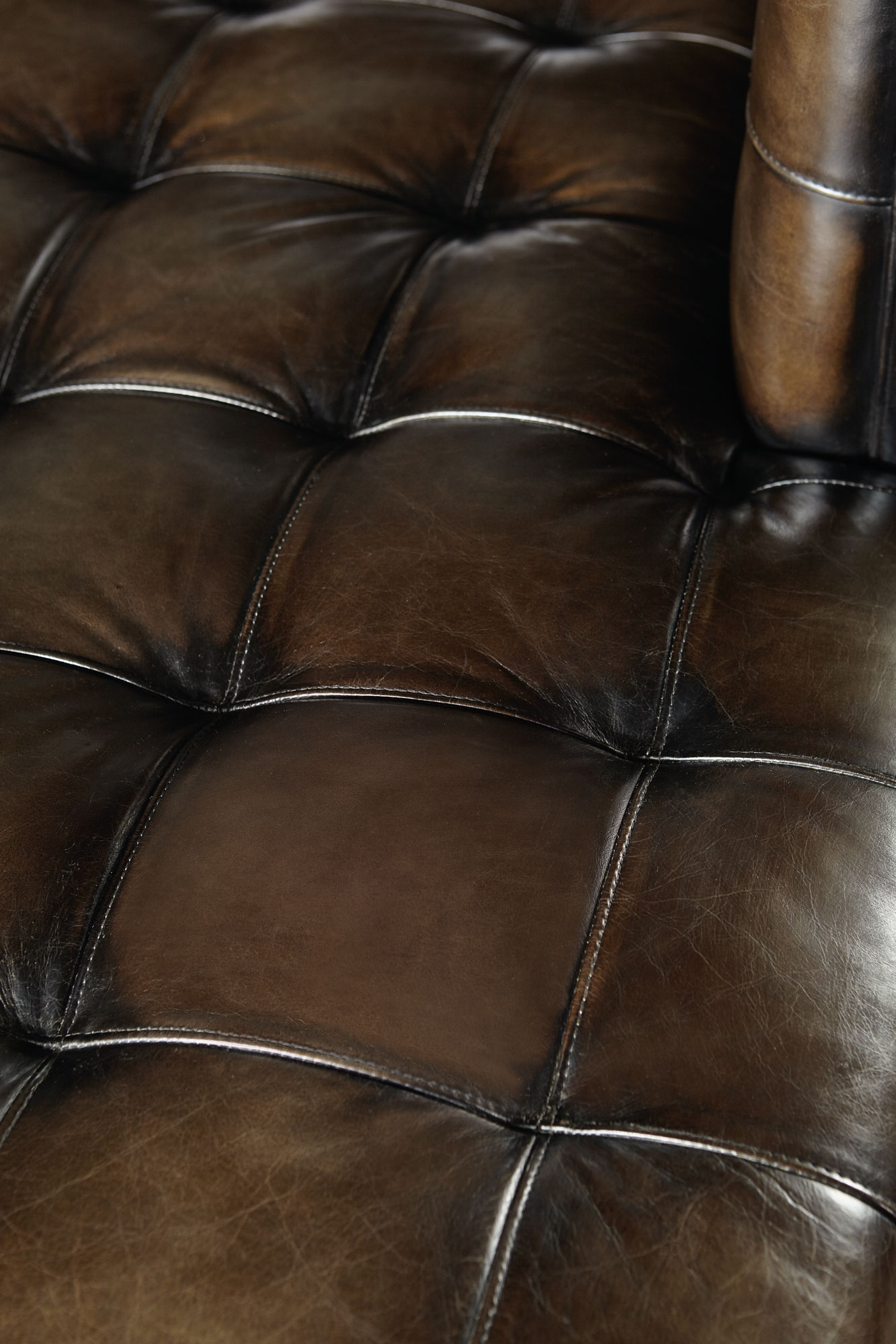 Dunhill Leather Sofa: Bernhardt Dunhill Leather Sectional