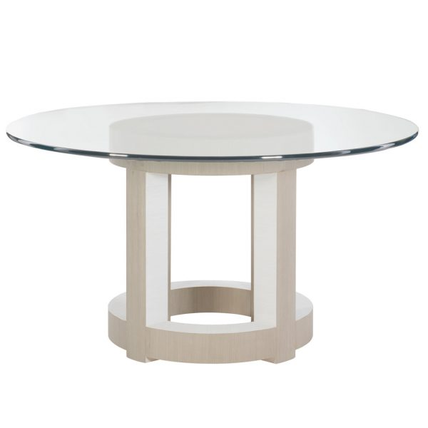 Axiom Round Glass Top Table Set