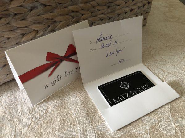 Printed Gift Card Katzberry Home Decor Katzberry Home Decor