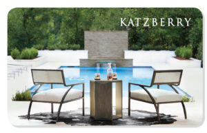 Chairs & Pool eCard Katzberry
