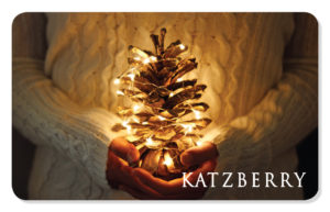 Holiday eCard with Pinecone