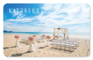 Wedding eCard with Beach
