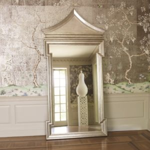 Fincastle Antique Silver Hall mirror