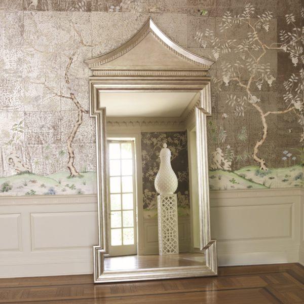 Fincastle Antique Silver Hall mirror