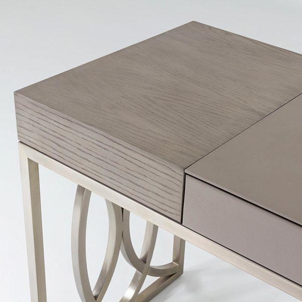 Holborn desk closeup of top surface