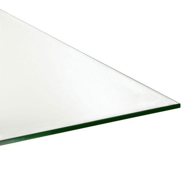 Argentino Vanity Desk top glass