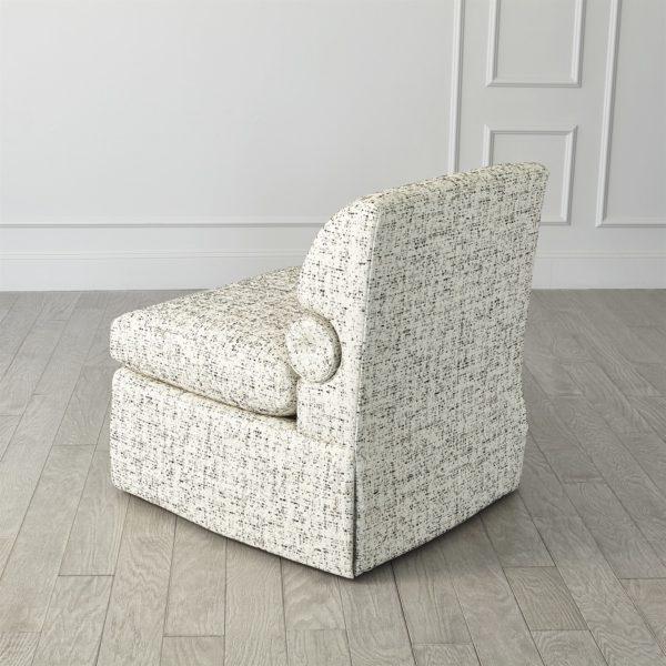 Bolster chair backside 40104