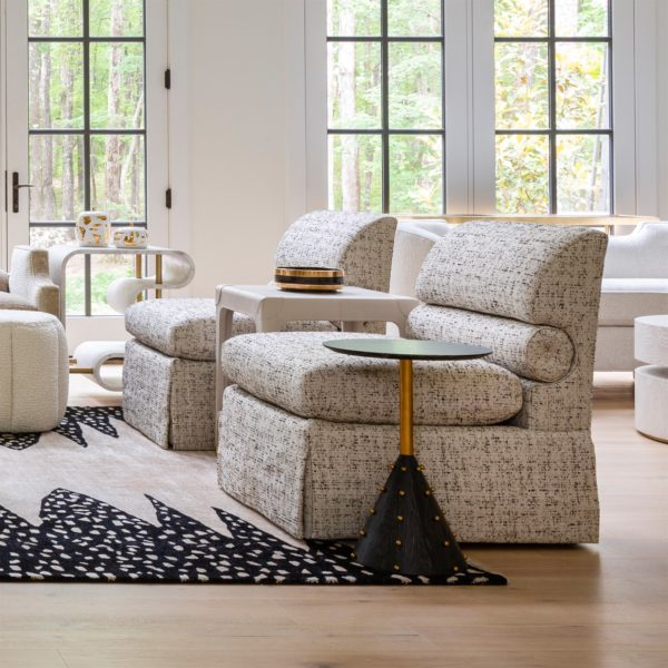Bolster chair lifestyle view