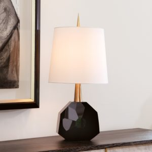 Black Crystal Gem Lamp
