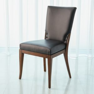 Opera Black Leather chair