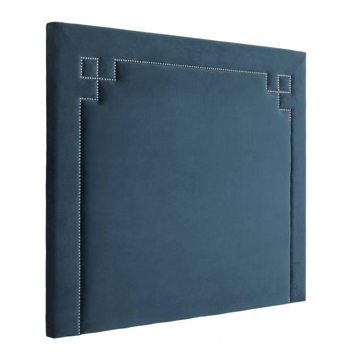 Roche Blue Headboard
