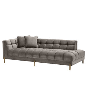 Chandler Lounge Sofa in soft Siena Grey