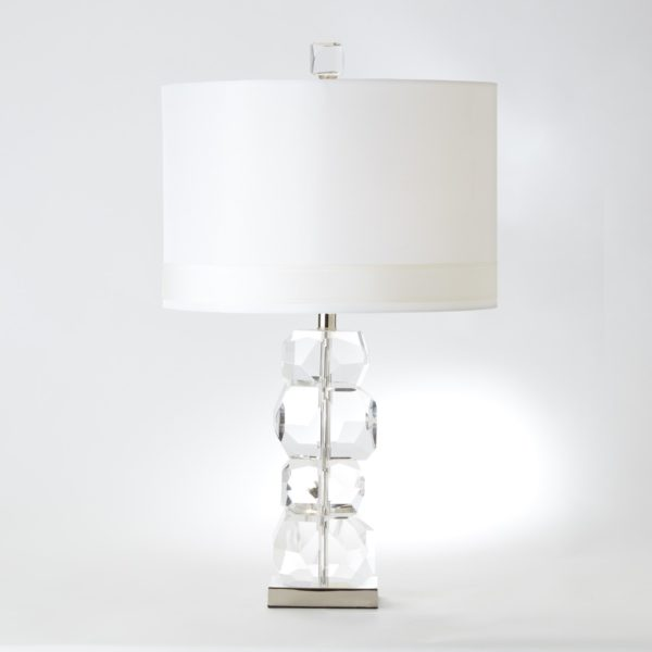 Gemstone short table lamp