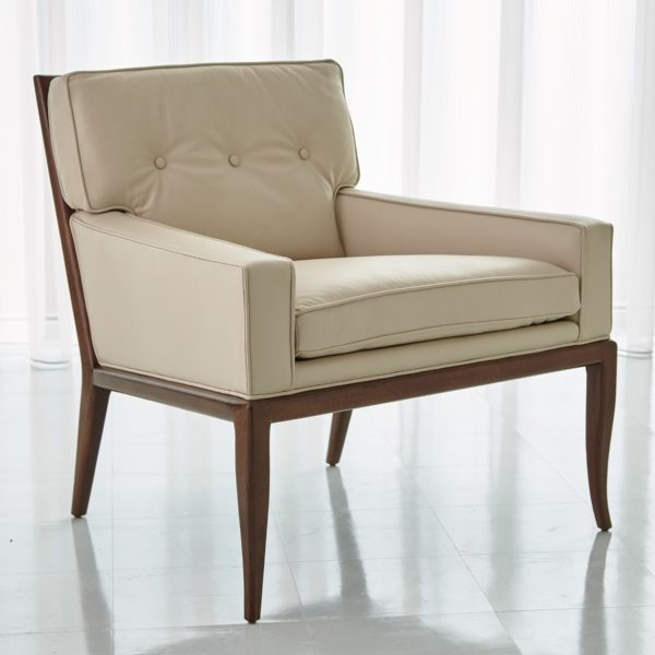 Wilson Beige Leather Chair