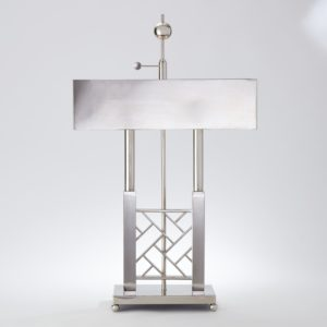 Carter Nickel Desk Lamp