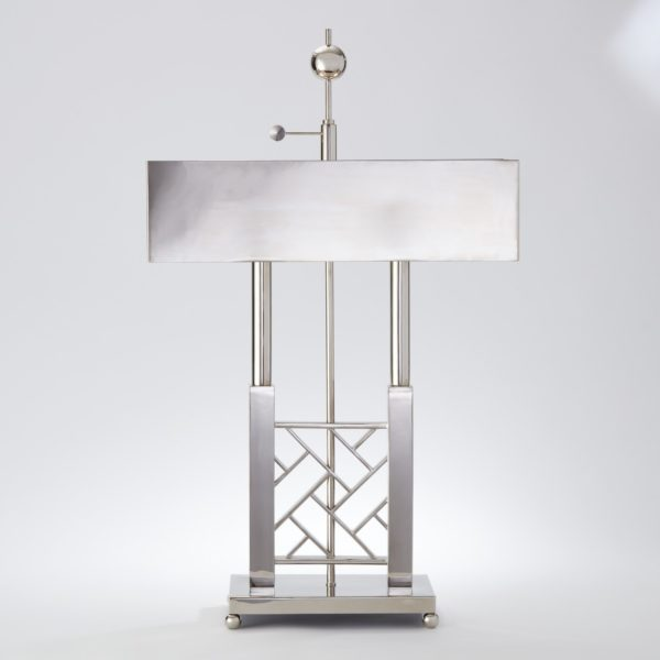 Carter Nickel Desk Lamp