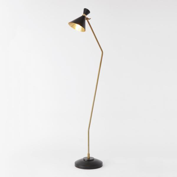 Cone Floor Lamp in Bronze finish