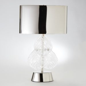 Murano Glass Leaf Table Lamp