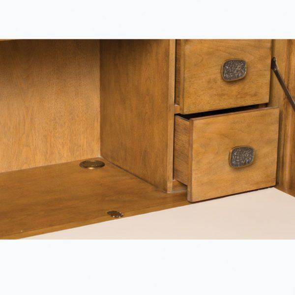 Vienna Secretary closeup drawers