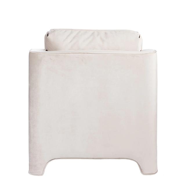 Slipper Cream chair back