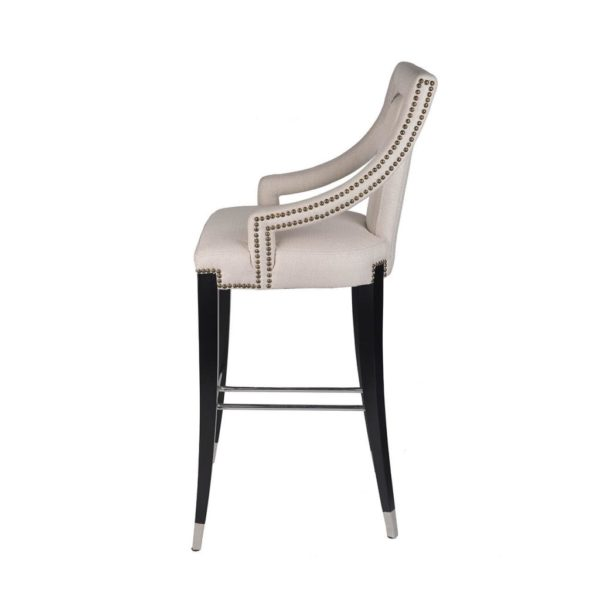 Rocco Upholstered Bar Chair