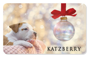 Holiday eCard with Puppy