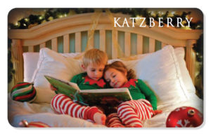 Holiday eCard with children reading