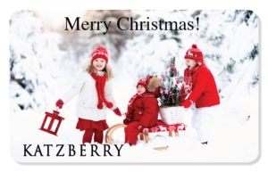 Christmas eCard snow & children