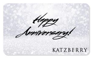 Anniversary eCard Silver