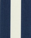 Hampton navy and cream stripe color swatch