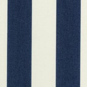 Hampton navy and cream stripe color swatch