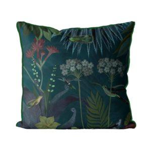 Hummingbird Garden 2 Pillow
