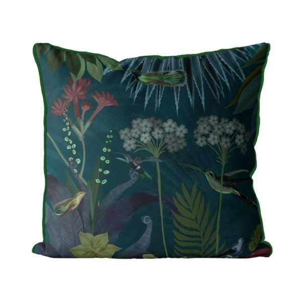Hummingbird Garden 2 Pillow