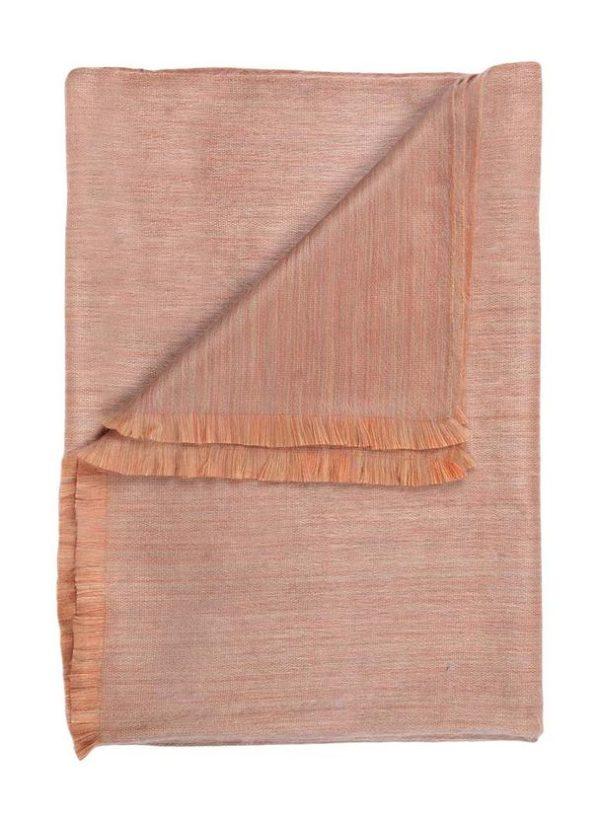 Mango-mosa Alpaca throw folded