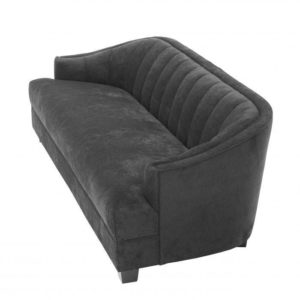Polaris Sofa in black top view