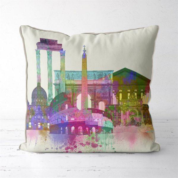 Rome Skyline pillow