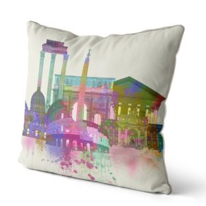 Rome Skyline pillow