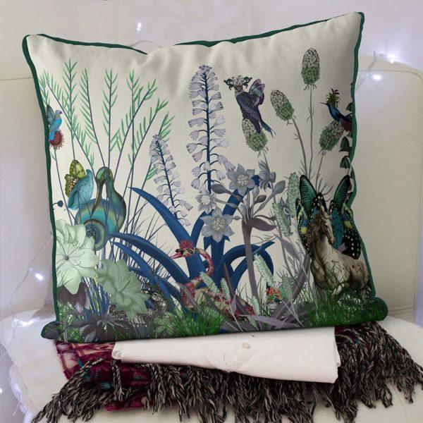 Swan Wildflower Pillow set